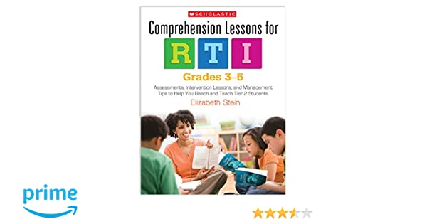 Comprehension Lessons For RTI Grades 3 5 Assessments