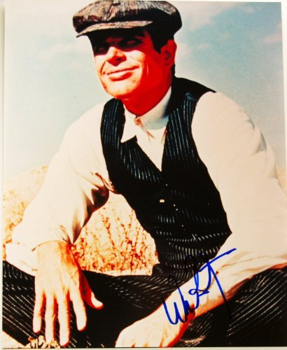 Warren Beatty Signed 8x10 Color Photo - Bonnie & Clyde - Signed in Blue - In Person Signed - Rare - Collectible