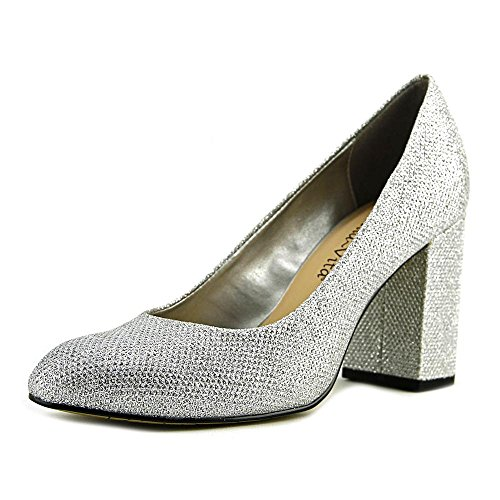 Dress Pump glitter Vita Bella Nara Silver Women's wq07xv