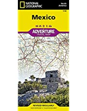 Mexico Adventure Map
