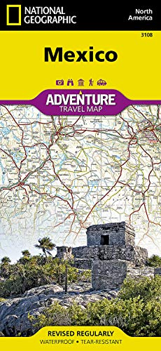 Mapa : Mexico (national Geographic Adventure Map) - National
