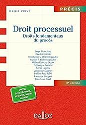 Droit processuel. Droits fondamentaux du procès - 8e éd.