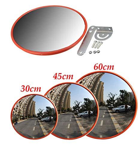 30cm Convex Mirror Outdoor Car Driveway Garage Safety Security Blind Spot Bend