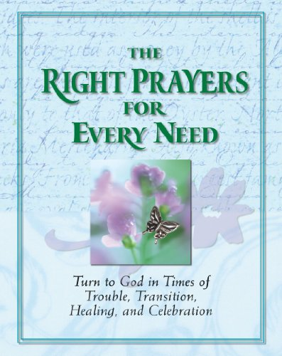 The Right Prayers for Every Need (Deluxe Daily Prayer Books) from Publications International, Ltd.