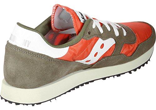 Vert Chaussures 18 Cross Vintage Dxn Trainer De Homme Saucony olive orange xa0OCnw