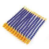 12pcs Plastic Flexible Water Oil Coolant Pipe Hose CNC 1/4' + Switch