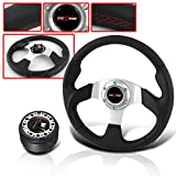 honda civic steer wheel - 6 HOLE JDM STEERING WHEEL WITH ADAPTER HUB FOR CIVIC DEL SOL AND ACCORD