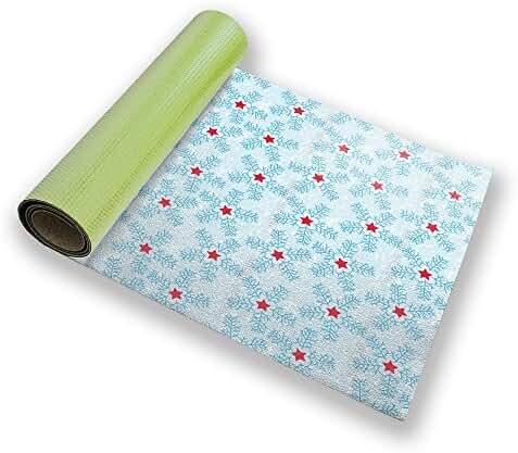 Snowflakes Yoga Mat Custom Printed Premium