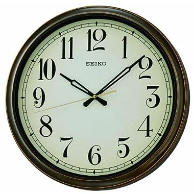 Seiko QXA548BLH Classic Outdoor Clock