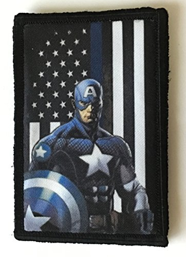 morale patch captain america - 7