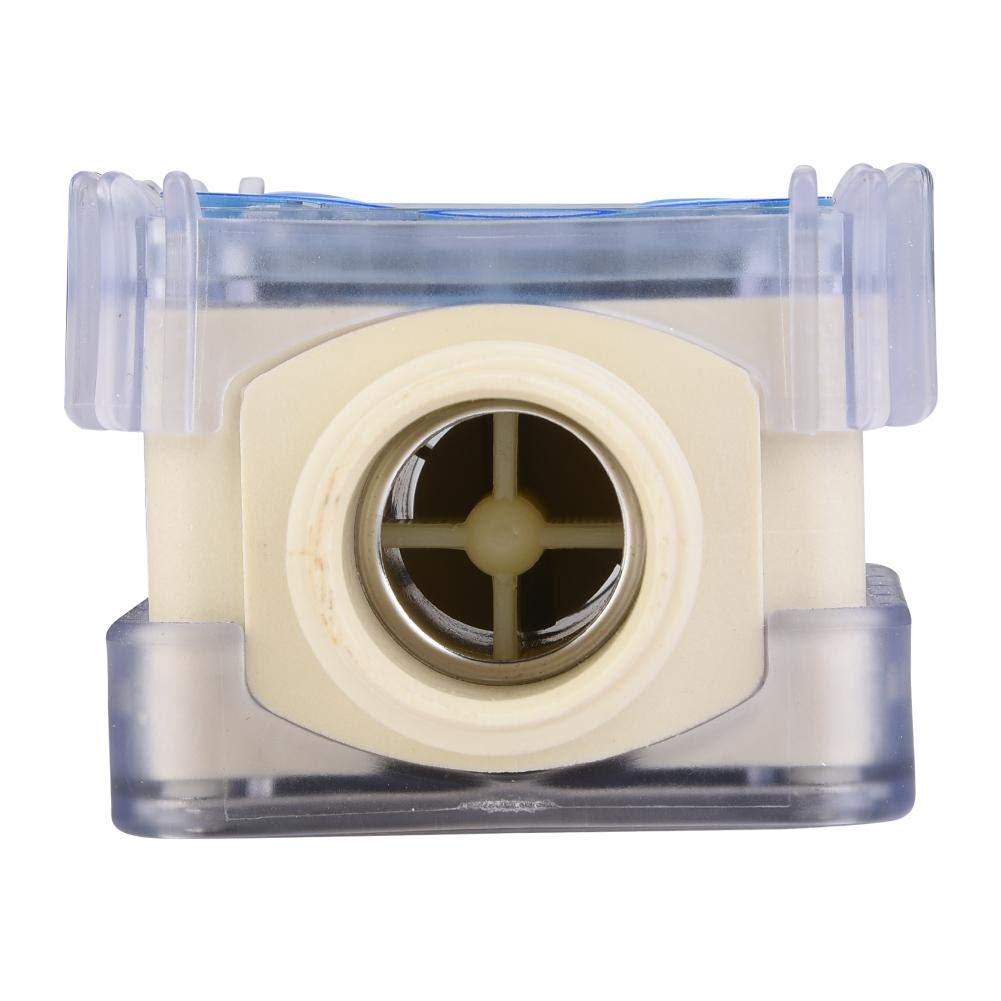 Diesel /Öl Kraftstoff-Durchflussmesser 1BSPP Wasserdurchflussmesser f/ür Chemikalien Fl/üssigkeit Durchflussmesser digitales Kraftstoffmessger/ät Turbinen-Durchflussmesser