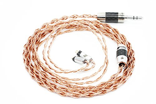 Effect Audio ARES II Upgrade Cable (2Pin - CIEM Connector) (2.5MM Straight Plug)