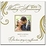 Personalized Mr & Mrs 25th Wedding Anniversary Gifts Our Love Story Is My Favorite Photo Album Holds 200 4x6 Photos Wedding Gift Ideas Made By LifeSong Milestones
