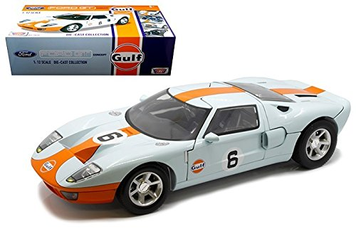 Motormax 1965 Ford GT Concept  6 Gulf Oil Racing 1:12 (ca33cm)