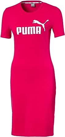 PUMA Vestido entallado Essentials+ para mujer