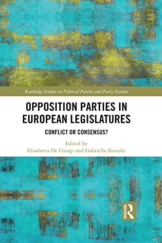 Opposition Parties in European Legislatures: Conflict or Consensus? (Routledge Studies on Political Parties and Party Systems)