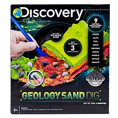 Discovery Layers of The Earth Geology Sand Dig Kit by Horizon Group USA: Toys & Games