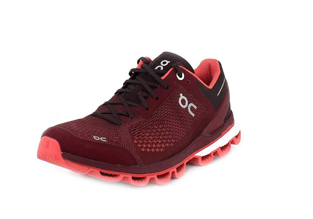 Mulberry Coral On Women's Cloudsurfer Sneaker