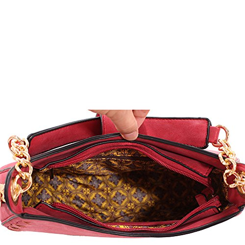 K Crossbody MKF Shoulder Collection Mia Bag Farrow Aisha by Black Oww0P7