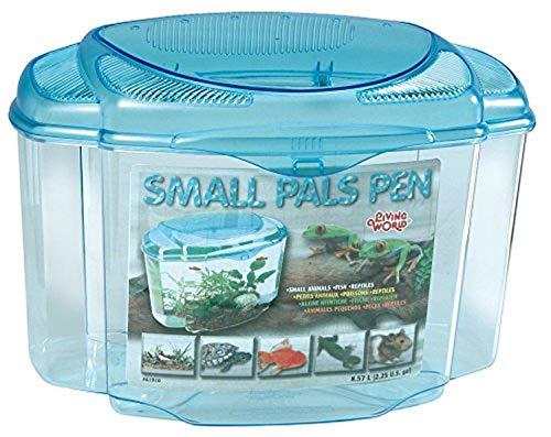 Living World Bolígrafo de plástico con diseño de pequeñas jaulas de Animal.