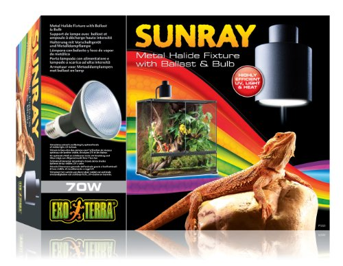 Exo Terra Sunray Light Fixture, 70-watt by Exo Terra