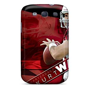 Scratch Protection Hard Phone Covers For Samsung Galaxy S3 (Qsu12418hJRB) Customized Realistic St. Louis Rams Pattern