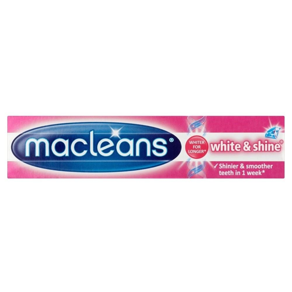 Macleans White & Shine Toothpaste Tube (100ml) - Pack of 2