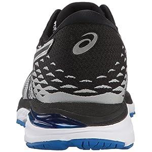 ASICS Men's Gel-Cumulus 19 Running-Shoes, Grey/Black/Directoire Blue, 12 Medium US