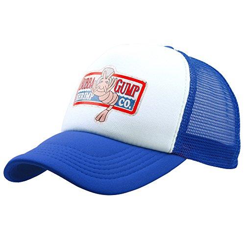 Greed Land Forest Gump Shrimp Hat Mesh Baseball Trucker Cap ()