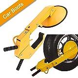 Oanon Wheel Lock Clamp Boot Tire Claw Auto Car Truck ATV, RV, Boat Trailers Heavy Duty Secure (Size 2)