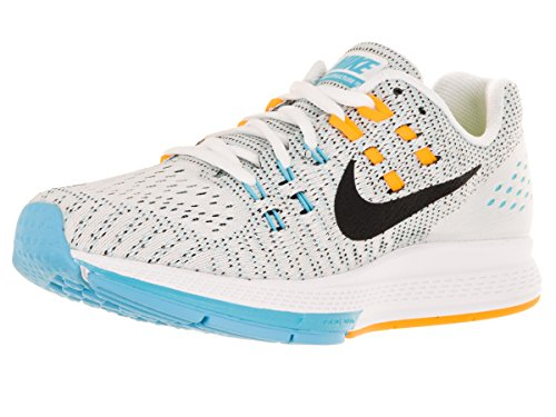Blanco de Mujer Lsr Zapatillas White Gmm Nike Structure Black Air 19 Orange para Bl Running Zoom W qnw1xfS