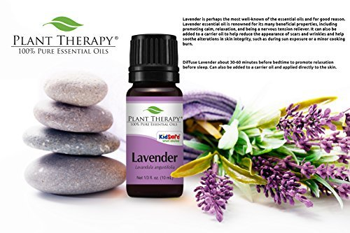 Plant Therapy USDA Certified Organic Lavender Essential Oil. 100% Pure, Undiluted, Therapeutic Grade. 30 ml (1 oz).