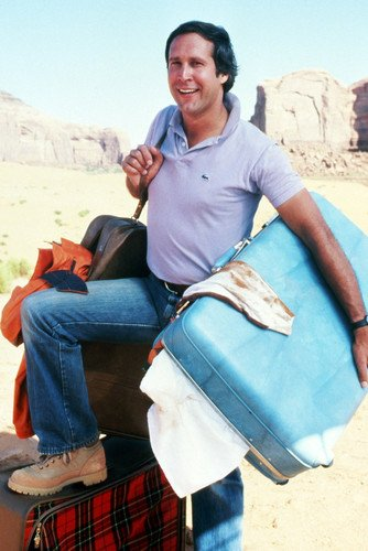 Chevy Chase National Lampoon's Vacation Classic 24X36 Poster Silverscreen