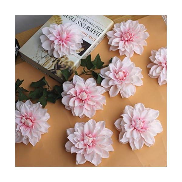 12Cm-Peony-Flower-Head-Dahlia-Fake-Flowers-Diy-Flower-Wall-Background