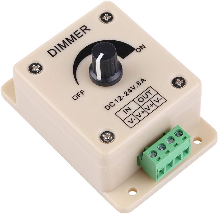 DC 12V 24V 8A LED Stripe Dimmer Controller Regler LED Streifen