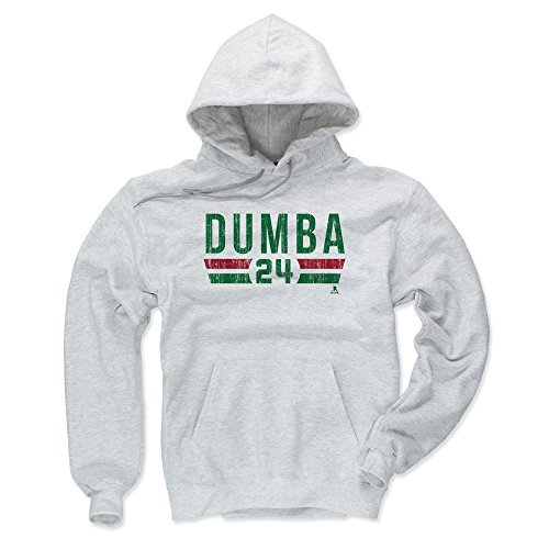 500 LEVEL Matt Dumba Minnesota Wild Hoodie Sweatshirt (XX-Large, Ash) - Matt Dumba Font -