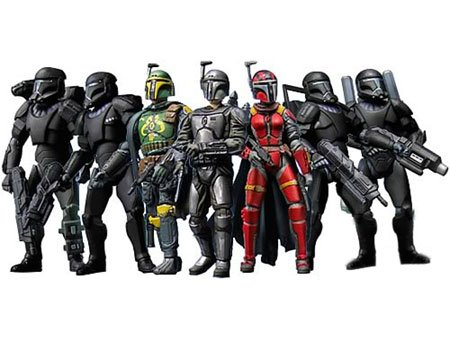 (Star Wars 30th Anniversary - Republic Elite Forces Mandalorians and Omega Squad Multi-Pack 3.75