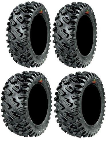 Full set of GBC Dirt Commander (8ply) 25x8-12 and 25x10-12 ATV Tires -