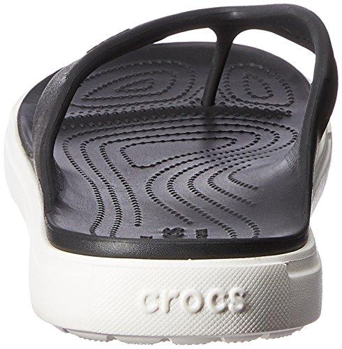 White Black Crocs Citilane Unisex Flip qwTHv0