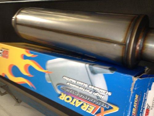 Diesel Muffler Stainless Steel Silverline product image