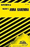 "Tolstoy's ""Anna Karenina"" (Cliffs Notes) Reissue Edition by Sturman, Marianne published by John Wiley & Sons (1965)"