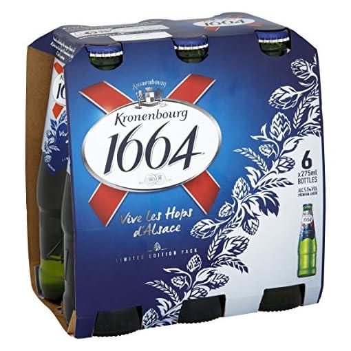 511zA9pU4gL Kronenbourg-1664-Lager-Beer-Bottle-6-x-275ml