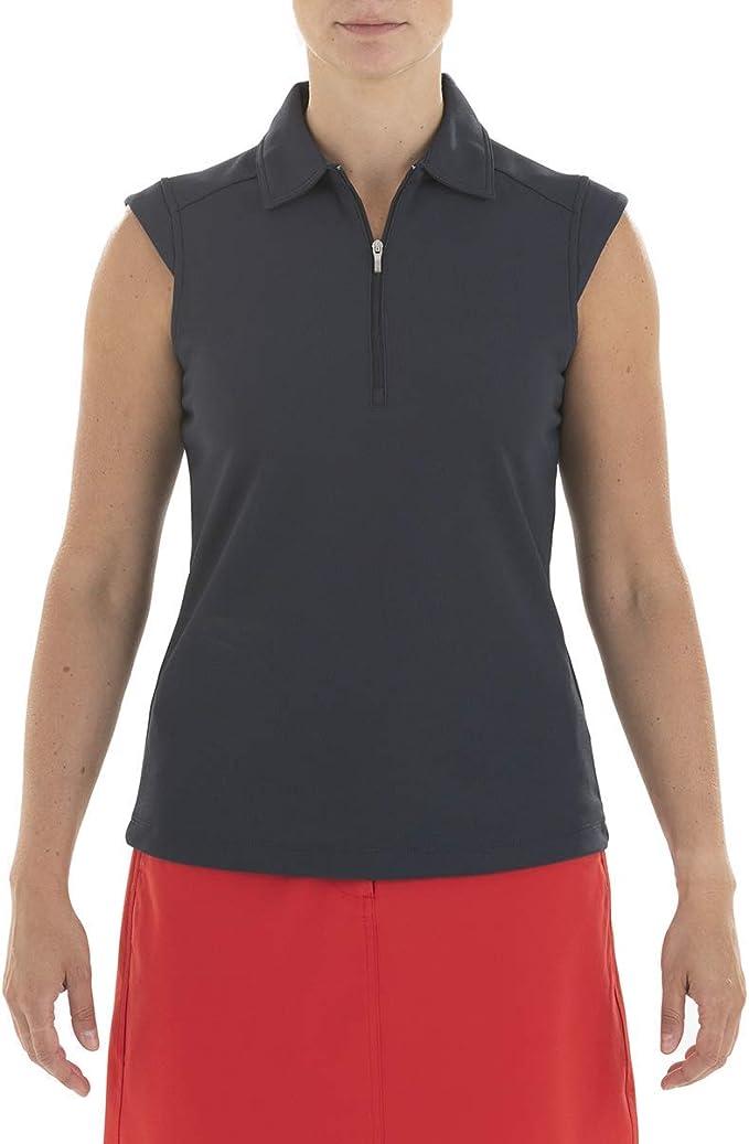 Nivo Golf Polo sin Mangas Mujer Nikki.: Amazon.es: Deportes y aire ...
