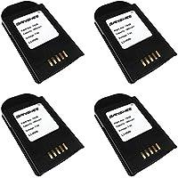 4 Batteries 7.4v1950mAh-HU3000/1030070 for Psion Teklogix 7535 Barcode Scanners