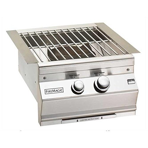 Fire Magic Propane Gas Built-in Power Burner With Stainless Steel Grid - 19-s0b1p-0