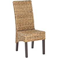 Safavieh Home Collection Bangka Natural Dining Chair (Set of 2)