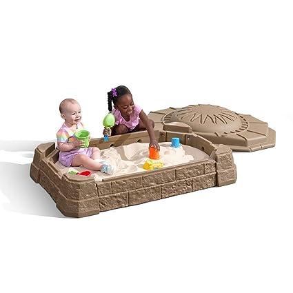 Step2 Naturally Playful Sandbox Ii With Bonus Sand Tools