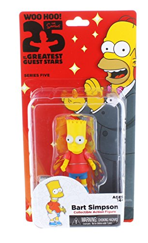 "NECA Simpsons 25th Anniversary 5"" Series 5 Bart Simpson Action Figure"