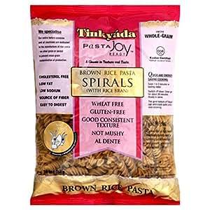 Tinkyada Spirals Brown Rice Pasta (3x16 oz.) by Tinkyada