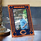 Chicago Bears Art Glass Frame